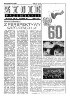 Życie Przemyskie : tygodnik społeczny. 1978, R. 12, nr 45 (575) (8 listopada)