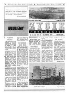 Życie Przemyskie : tygodnik społeczny. 1978, R. 12, nr 46 (576) (15 listopada)