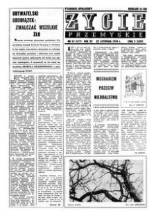 Życie Przemyskie : tygodnik społeczny. 1978, R. 12, nr 47 (577) (22 listopada)