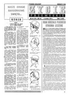 Życie Przemyskie : tygodnik społeczny. 1978, R. 12, nr 49 (579) (6 grudnia)