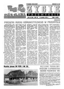 Życie Przemyskie : tygodnik społeczny. 1978, R. 12, nr 50 (580) (13 grudnia)