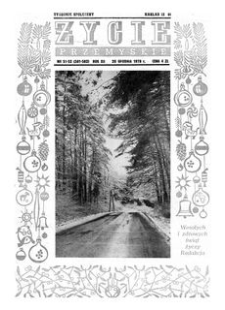 Życie Przemyskie : tygodnik społeczny. 1978, R. 12, nr 51-52 (581-582) (20 grudnia)