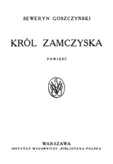 Król zamczyska : powieść