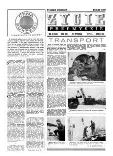 Życie Przemyskie : tygodnik społeczny. 1979, R. 13, nr 3 (585) (17 stycznia)