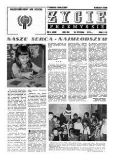 Życie Przemyskie : tygodnik społeczny. 1979, R. 13, nr 4 (586) (24 stycznia)