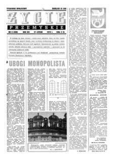 Życie Przemyskie : tygodnik społeczny. 1979, R. 13, nr 8 (590) (21 lutego)