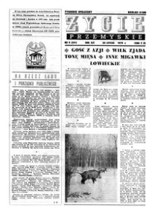 Życie Przemyskie : tygodnik społeczny. 1979, R. 13, nr 9 (591) (28 lutego)