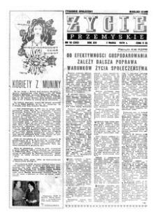 Życie Przemyskie : tygodnik społeczny. 1979, R. 13, nr 10 (592) (7 marca)