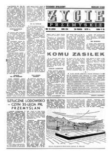 Życie Przemyskie : tygodnik społeczny. 1979, R. 13, nr 13 (595) (28 marca)