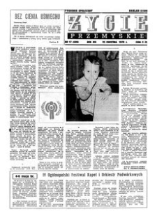 Życie Przemyskie : tygodnik społeczny. 1979, R. 13, nr 17 (599) (25 kwietnia)
