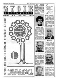 Życie Przemyskie : tygodnik społeczny. 1979, R. 13, nr 18 (600) (1 maja)