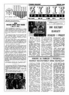 Życie Przemyskie : tygodnik społeczny. 1979, R. 13, nr 19 (601) (9 maja)