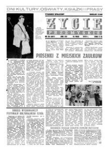 Życie Przemyskie : tygodnik społeczny. 1979, R. 13, nr 20 (602) (16 maja)