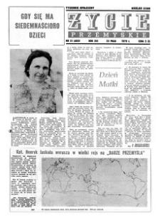 Życie Przemyskie : tygodnik społeczny. 1979, R. 13, nr 21 (603) (23 maja)