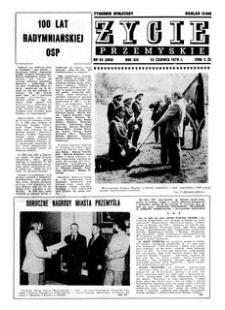 Życie Przemyskie : tygodnik społeczny. 1979, R. 13, nr 24 (606) (13 czerwca)