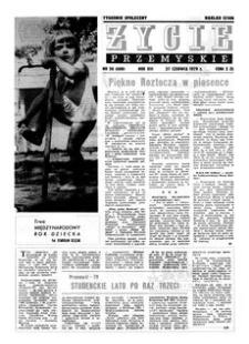 Życie Przemyskie : tygodnik społeczny. 1979, R. 13, nr 26 (608) (27 czerwca)