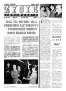 Życie Przemyskie : tygodnik społeczny. 1979, R. 13, nr 30 (612) (25 lipca)
