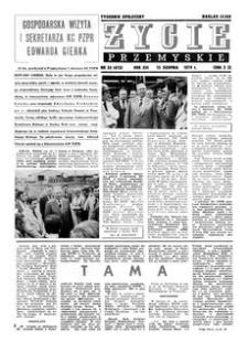 Życie Przemyskie : tygodnik społeczny. 1979, R. 13, nr 33 (615) (15 sierpnia)