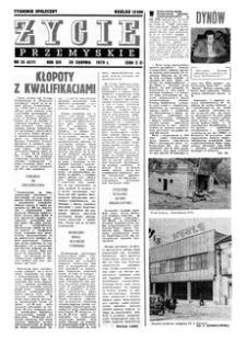 Życie Przemyskie : tygodnik społeczny. 1979, R. 13, nr 35 (617) (29 sierpnia)