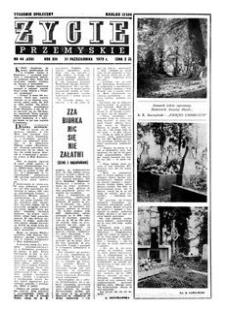 Życie Przemyskie : tygodnik społeczny. 1979, R. 13, nr 44 (626) (31 października)