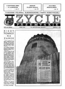 Życie Przemyskie : tygodnik Polskiej Zjednoczonej Partii Robotniczej. 1979, R. 13, nr 46 (628) (14 listopada)