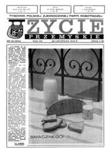 Życie Przemyskie : tygodnik Polskiej Zjednoczonej Partii Robotniczej. 1979, R. 13, nr 48 (630) (28 listopada)