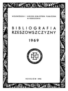 Bibliografia Rzeszowszczyzny 1969