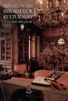 Rzeszowski Informator Kulturalny. 1996, nr 19 (czerwiec-lipiec, wydanie specjalne)