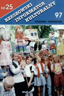 Rzeszowski Informator Kulturalny. 1997, nr 25 (wrzesień-październik)