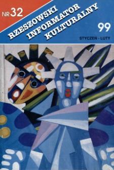 Rzeszowski Informator Kulturalny. 1999, nr 32 (styczeń-luty)