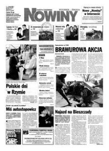 Nowiny : gazeta codzienna. 2000, nr 85 (2-3 maja)