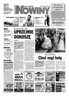 Nowiny : gazeta codzienna. 2000, nr 152 (7 sierpnia)