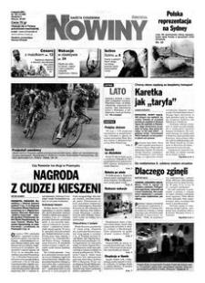 Nowiny : gazeta codzienna. 2000, nr 154 (9 sierpnia)