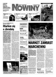 Nowiny : gazeta codzienna. 2000, nr 155 (10 sierpnia)