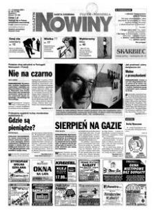 Nowiny : gazeta codzienna. 2000, nr 156 (11-13 sierpnia)