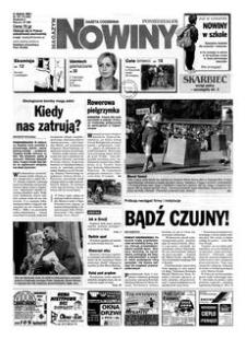 Nowiny : gazeta codzienna. 2000, nr 161 (21 sierpnia)