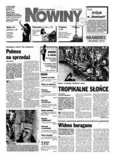 Nowiny : gazeta codzienna. 2000, nr 162 (22 sierpnia)