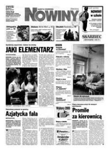 Nowiny : gazeta codzienna. 2000, nr 163 (23 sierpnia)