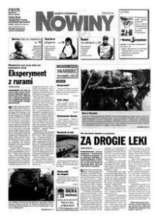 Nowiny : gazeta codzienna. 2000, nr 168 (30 sierpnia)