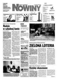 Nowiny : gazeta codzienna. 2000, nr 169 (31 sierpnia)