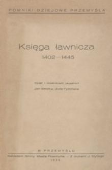 Księga ławnicza : 1402-1445