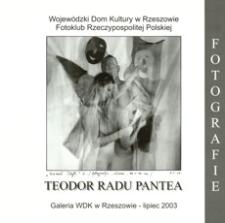 Teodor Radu Pantea : fotografie