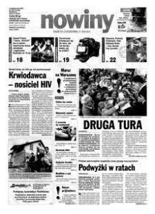Nowiny : gazeta codzienna. 2000, nr 193 (4 października)