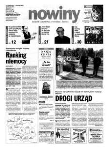 Nowiny : gazeta codzienna. 2000, nr 212 (31 października-1 listopada)