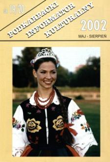 Podkarpacki Informator Kulturalny. 2002, nr 19-20 (maj-sierpień)