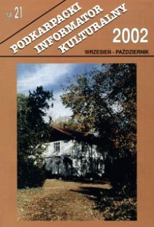 Podkarpacki Informator Kulturalny. 2002, nr 21 (wrzesień-październik)