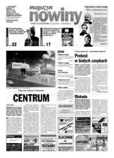 Nowiny : gazeta codzienna. 2000, nr 234 (1-3 grudnia)