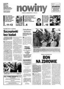 Nowiny : gazeta codzienna. 2000, nr 237 (6 grudnia)