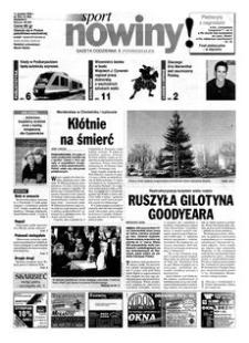 Nowiny : gazeta codzienna. 2000, nr 240 (11 grudnia)