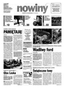 Nowiny : gazeta codzienna. 2000, nr 242 (13 grudnia)